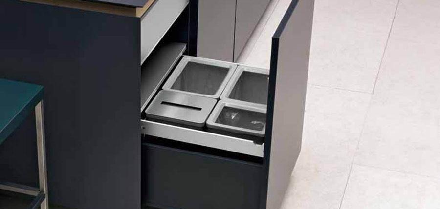 contenitori raccolta differenziata design